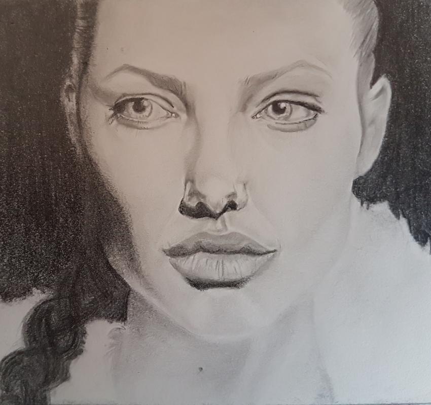 Angelina Jolie by Nanou974
